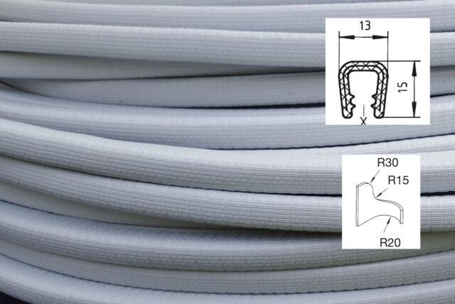 KS6-8HG Kantenschutzprofil Kantenschutz Dichtungsprofil Klemmprofil grau PVC +