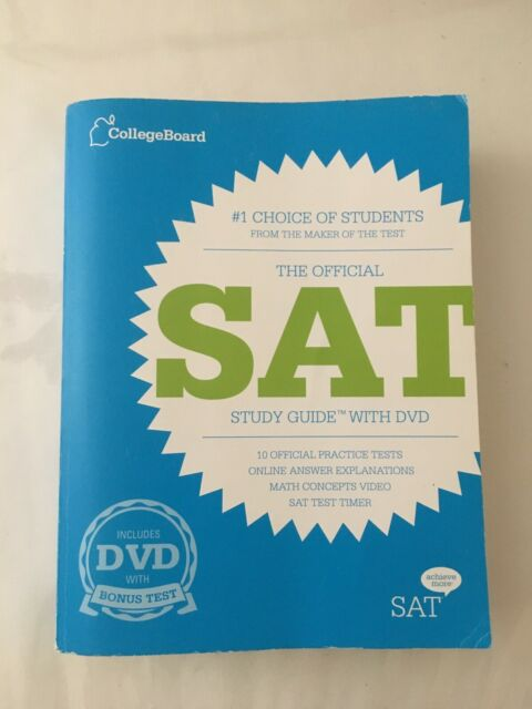 The Official SAT By College Board Staff 2012 Paperback Study Guide