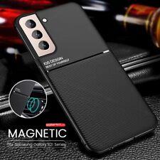 Funda para Samsung Galaxy S21 Ultra S20 A32 A52 A72 5G cubierta delgada magnética de cuero