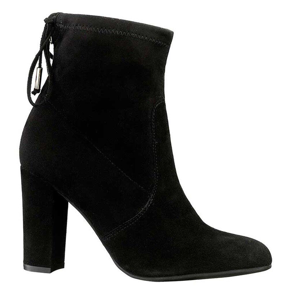 523859b3c4f917 KEYS 7272 NOIR chaussures chaussures chaussures bottines bottes pour femme  cuir en daim compensé | Sélection Large 852520