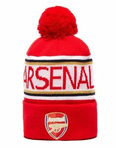 f8ab4d55b Details about Arsenal Pom Pom Beanie - Official Club Top Quality PUMA Brand  - New w/Tags