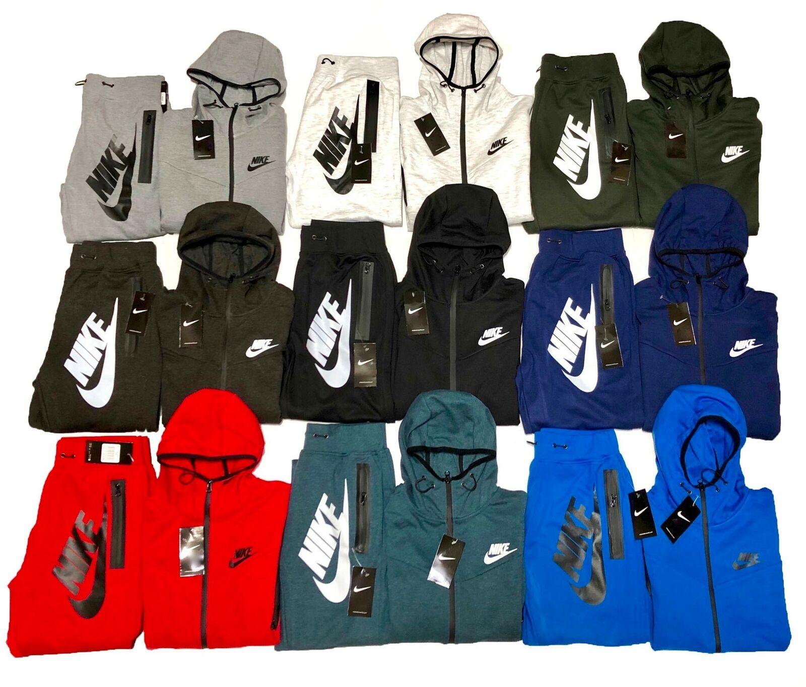 Mens Nike Tech Fleece Windrunner Full Zip Hoodie 805144 Small Green For Sale Online Ebay