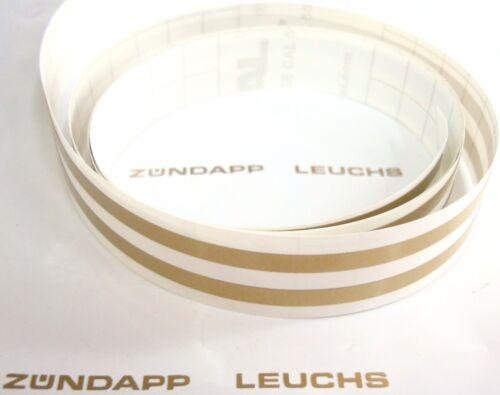 Puch autocollant réservoir linierstreifen 4x1100mm Gold