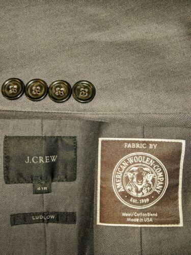 41R J. CREW Ludlow - American Woolen Company Charc