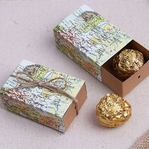 Image Is Loading Rustic World Map Travel Shabby Chic Wedding Favour