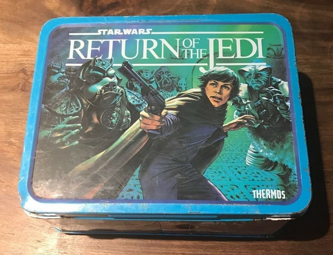Star Wars Return of the Jedi Metal Lunchbox from Thermos