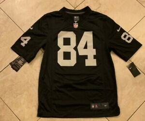Details about NIKE Oakland Raiders Marshawn Lynch #84 Game Day Jersey S Black NFL 468964-054