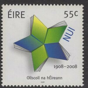 IRELAND-SG1916-2008-CENTENARY-OF-THE-NATIONAL-UNIVERSITY-OF-IRELAND-MNH