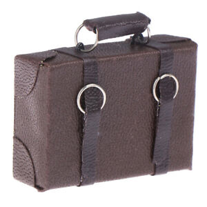 1-12-Doll-house-Miniature-Vintage-Wood-Suitcase-Mini-Luggage-wgJ-Gy