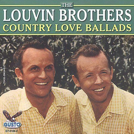 Country Love Ballads Louvin Brothers CD 2003 Gusto EMI FAST FROM USA SHIPPING