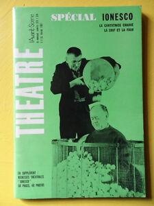 L-039-Avant-Scene-Theatre-373-374-1967-special-Ionesco-Cantatrice-La-Soif-et-la-Faim