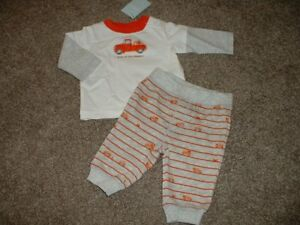 Gymboree Baby Boys Size 0 3 Months Happy Harvest Outfit Set