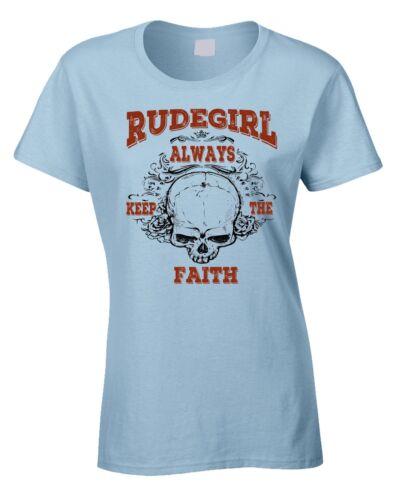 Rockabilly Ladies T-Shirt Rockabilly Rock /& Roll 50/'s 60/' Greasers