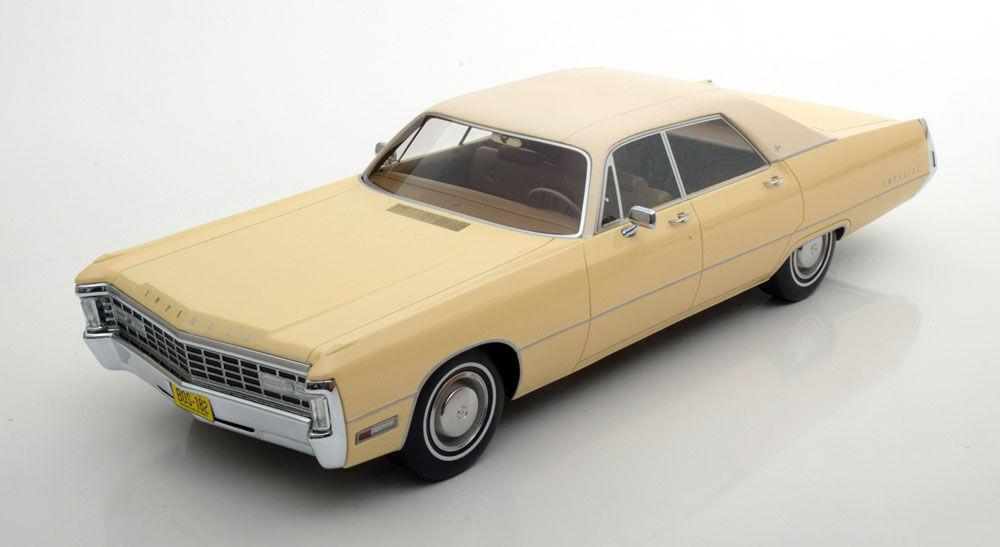 suministro directo de los fabricantes BoS 1971 Chrysler Imperial Le Baron 4 Door Creme Creme Creme LE of 1000 1 18 Rare Find New   mejor marca