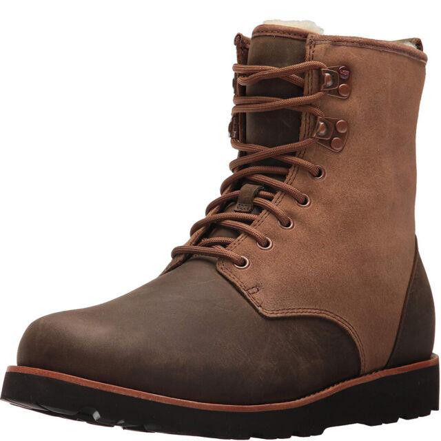 1151c5511c4 UGG Hannen TL Dark Chestnut Waterproof Leather Sheepskin BOOTS Size US 11