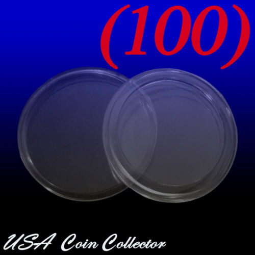 A24 100 Genuine Holder- 24.3mm Quarter Size Direct Fit Air-Tite Coin Capsule