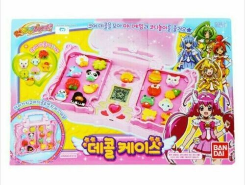 Bandai Smile Precure Decal Case Children TV Movie Character Toy Kids Hobbies/_NN