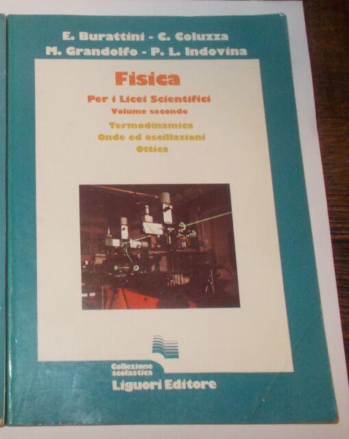 FISICA 2 LICEI SCIENTIFICI TERMODINAMICA ONDE E OSCILLAZIONI OTTICA LIGUORI