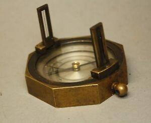 uralter-Kompass-Geologenkompass-Messing-ca-1900-Freiberg-Militaer-1-W-781