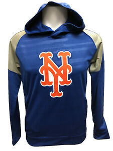 check out 5c61f 19423 New York Mets Youth Boys Clubhouse Pullover Hooded ...