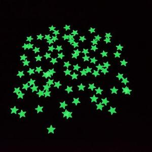 100pcs-Glow-In-The-Dark-Star-Baby-Kids-Room-Home-Wall-Stickers-Decal-Decoration