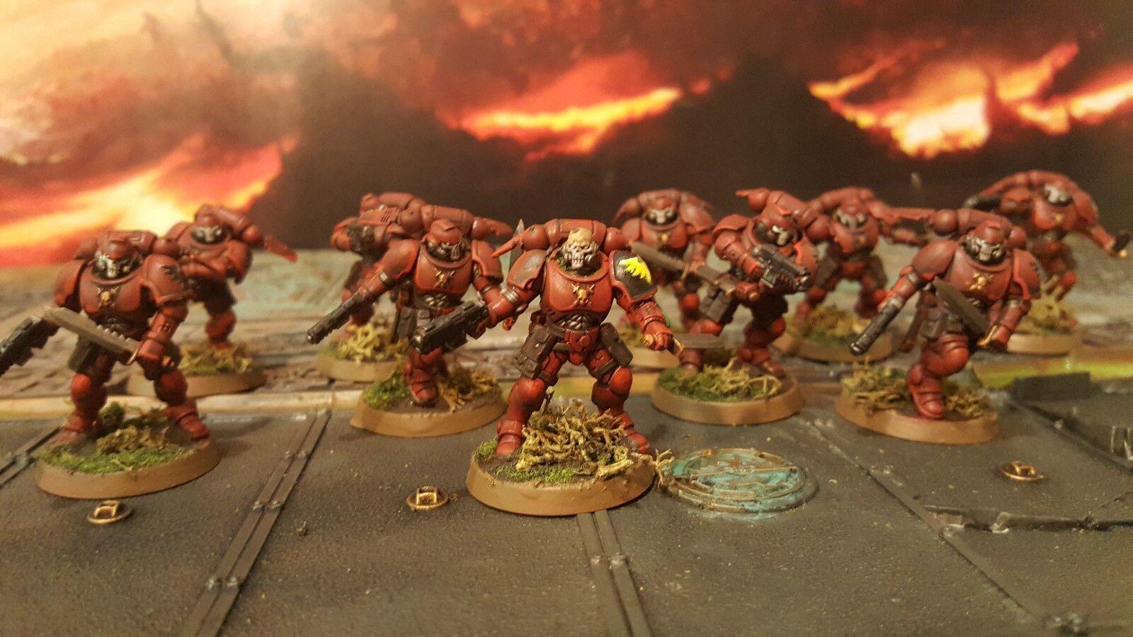 Warhammer Primaris space marine 10 man Reivers pro painted made to order
