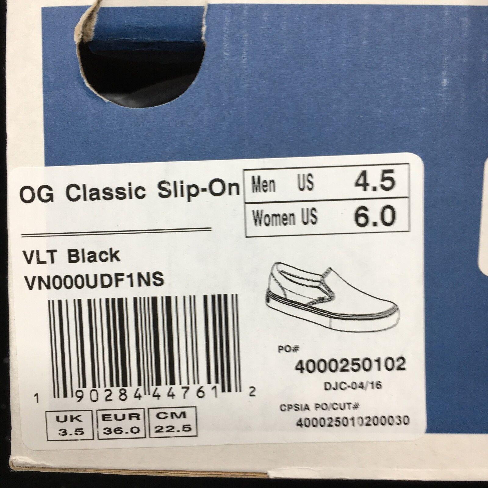 Vans Vault Classic Classic Classic Slip On LX VLT nero VN000UDF1NS c9c805