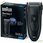 Braun Serie 1 Da Uomo A Corrente Alluminio Peli Del Viso Elettrico Barba