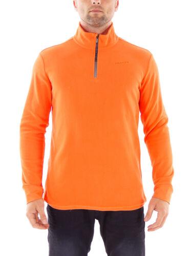 Brunotti Fleeceoberteil Funktionspulli Tenno orange Zip isolierend