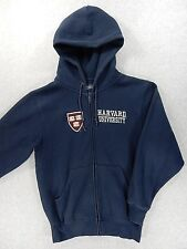 Harvard University Jansport Stitched Campus Hoodie Jacket (Adult Small) Blue