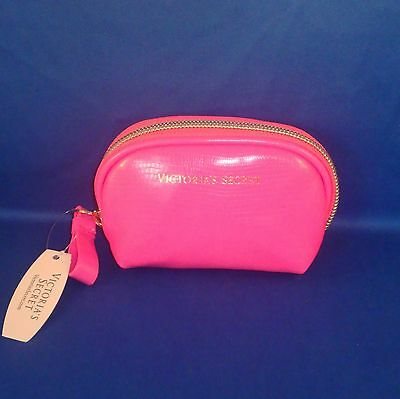 Victoria's Secret - Hot Pink - Faux Leather - Coin Purse - NEW