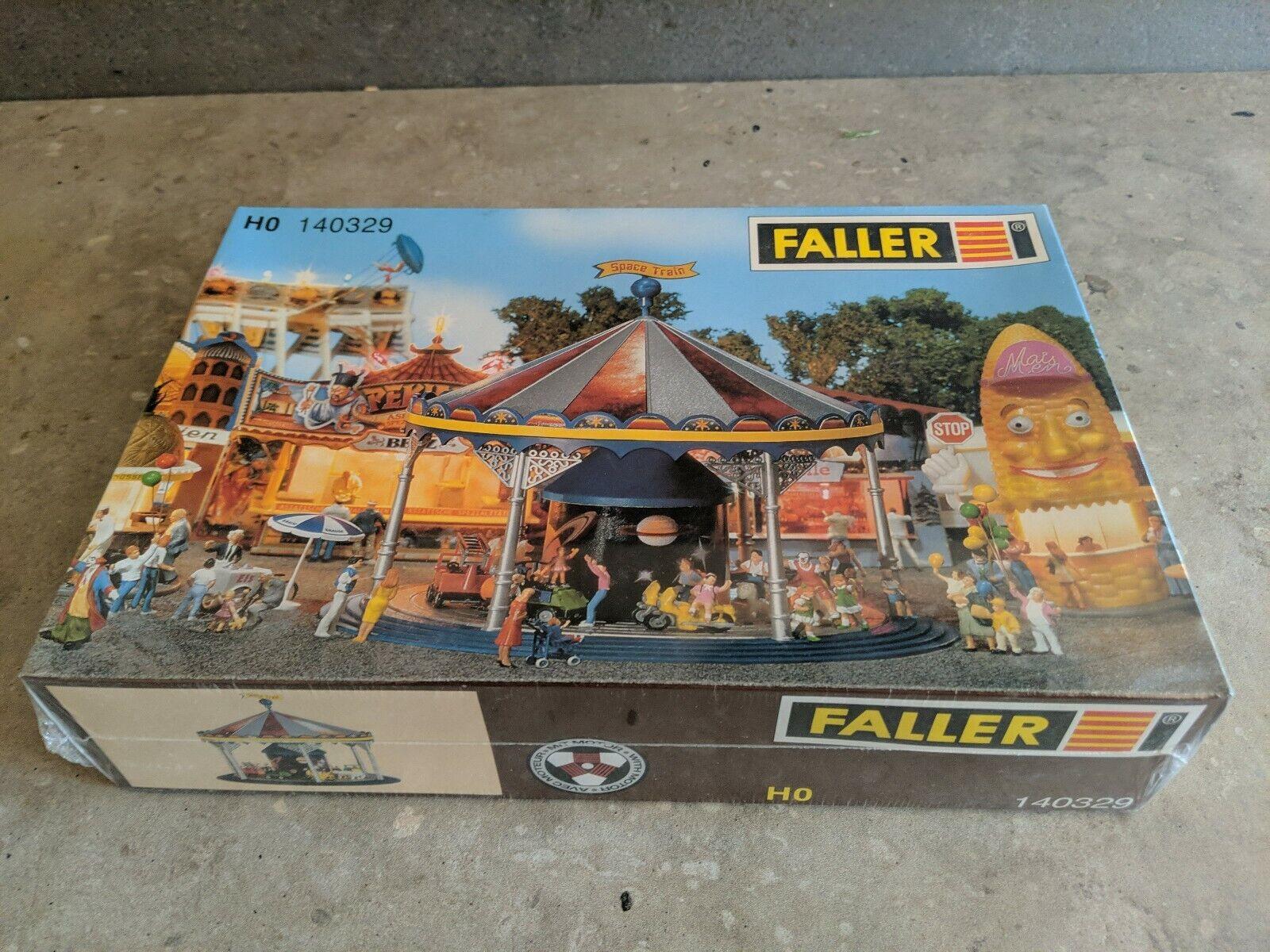 Faller Kinderkarussel H0 Spielzeug Jahrmarkt Kirmes Rummel Karussell OVP  12