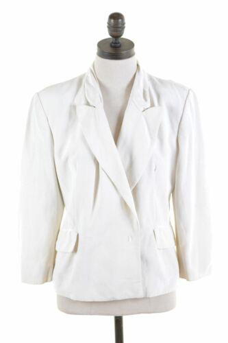 Sleeve Beige Moschino Womens Jacket Blazer 4 Medium Cotton Uk 3 In28 12 qwgFHxwX
