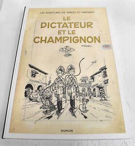 TDT-FRANQUIN-2019-Spirou-le-dictateur-amp-le-champignon-Dupuis-2000-ex-N