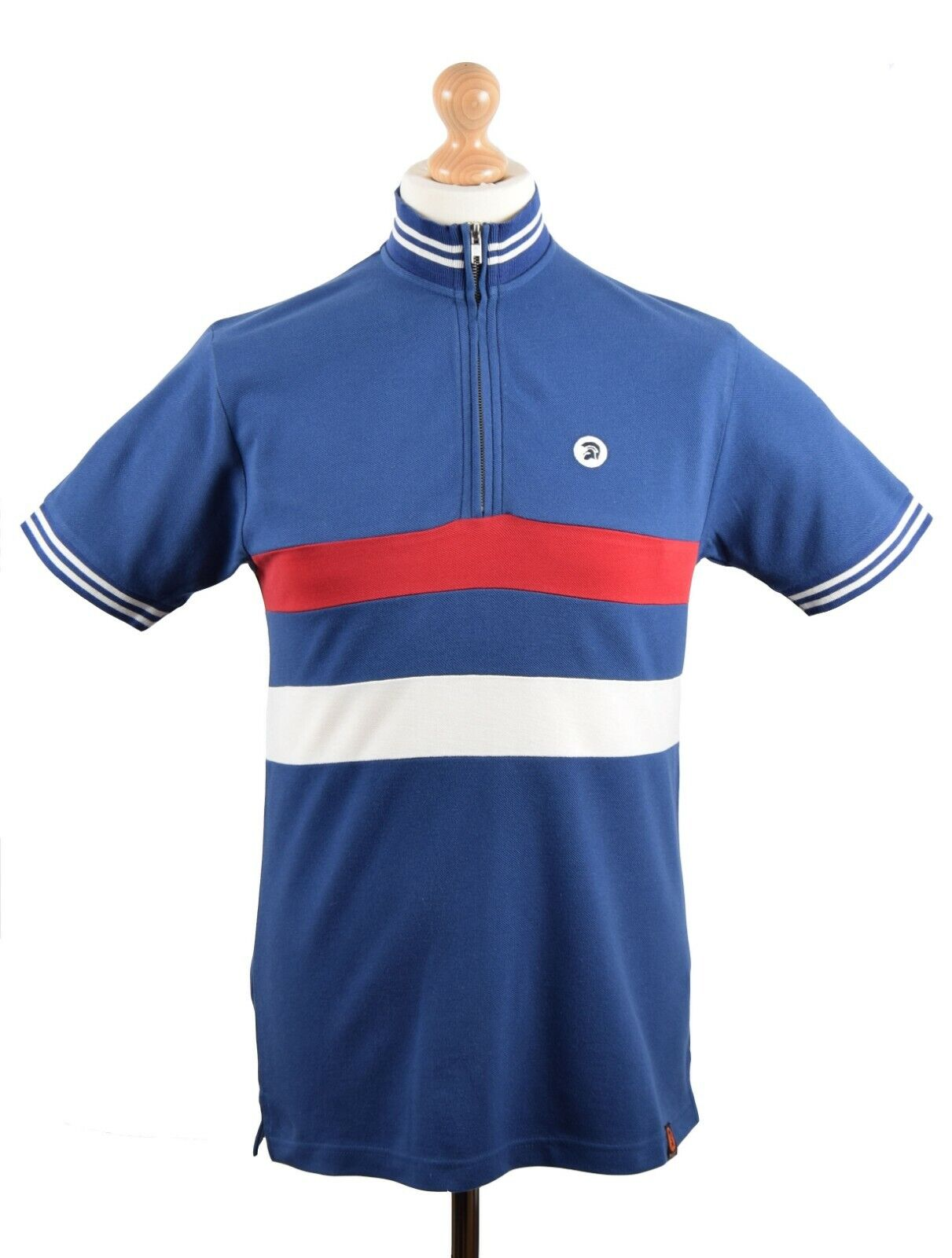 TROJAN RECORDS ELECTRIC NAVY CYCLE TOP MOD CLOTHING NORTHERN SOUL MODS SCOOTER