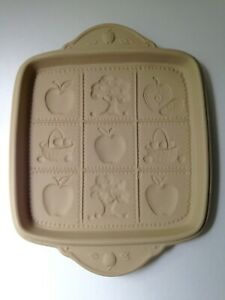 Brown-Bag-Cookie-Art-Shortbread-Apple-Tree-Orchard-Pan-Mold-Bakeware-1994-Hill