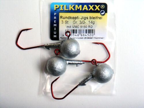 Nymphen Jigs Bleifei  3 Stk pro Packung Bleifreie VMC Jigs