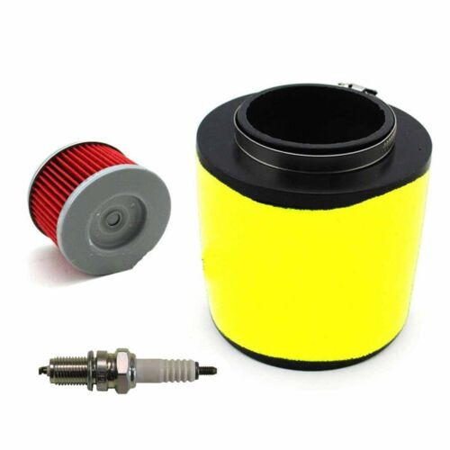 Oil Filter /& Spark Plug FOR Honda Fourtrax 300 2x4 /& 4x4 TRX300 Air Filter