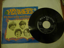 """THE MONKEES""""IT'S NICE TO BE WITH YOU-disco 45 giri RCA Ger 1968"""""""