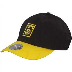 Puma BVB Borussia Dortmund ADN Cap hommes femmes Football Fan Capuchon Casquette 022476