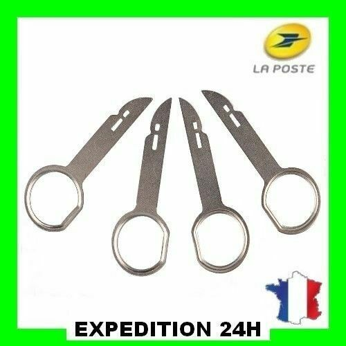 4 Clés Extraction Autoradio pour Audi Ford Volkswagen Mercedes NEUF
