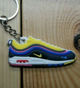Détails sur Porte cles Nike Air Max 97 Sean Wotherspoon Keychain Sneakers accessories