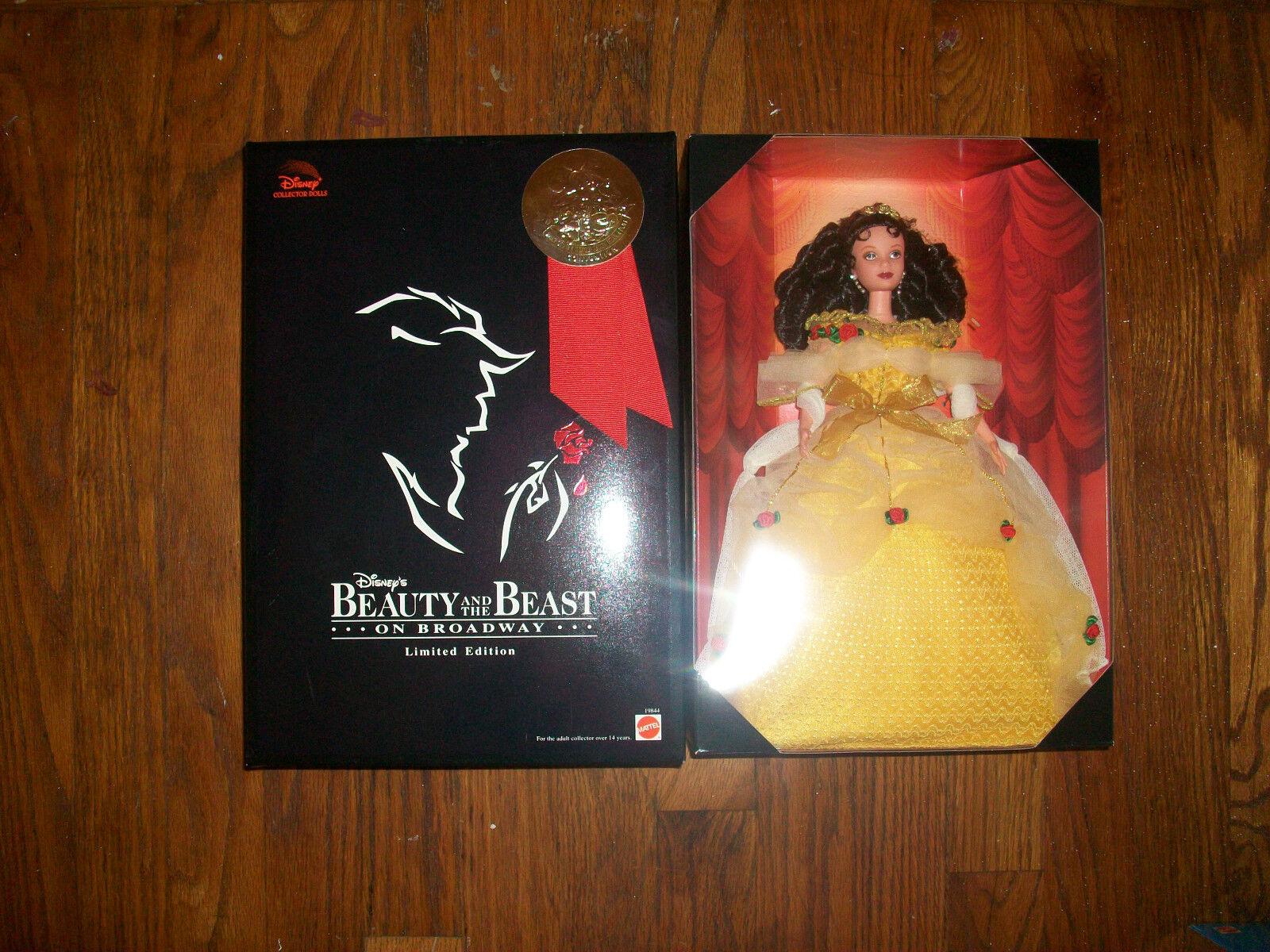 Belle en Broadway convención muñeca edición limitada 1998 con el sello