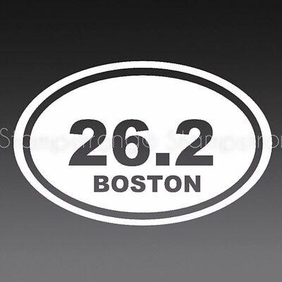 26.2 Vinyl Decal Sticker V2 GIRL Die Cut run half marathon EURO CAR 13.1 25K