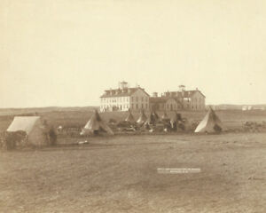 US-school-at-the-Pine-Ridge-Agency-in-South-Dakota-1891-Photo-Print