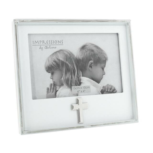 Official Party Product Juliana White Photo Frame Cross Icon 6 X 4 ...