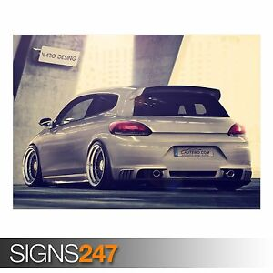 Photo Picture Poster Print Art A0 to A4 VOLKSWAGEN SCIROCCO AA517 CAR POSTER