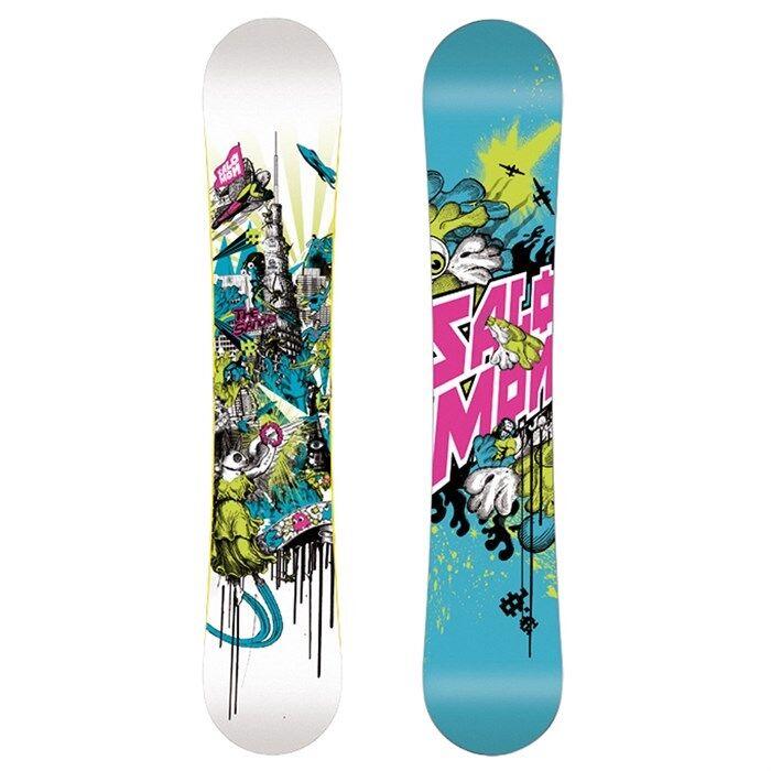 NEW Salomon SANCHEZ 157cm Snowboard BRAND NEW 157-  Camber