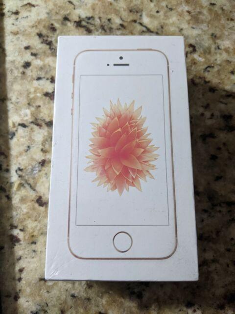 Apple iPhone SE - 64GB - Rose Gold (Unlocked) A1662 (CDMA + GSM)