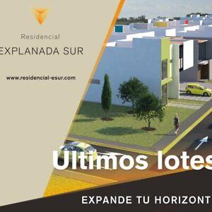 ÚLTIMOS LOTES EN EXPLANADA SUR DESDE 165 m2